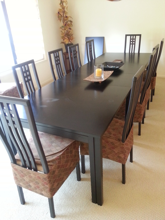 Dining Table Set With 12 Chairs