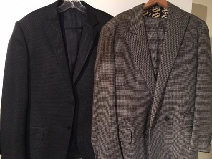 Versace blazer and Mr  Fish (London) suit - Total Estate
